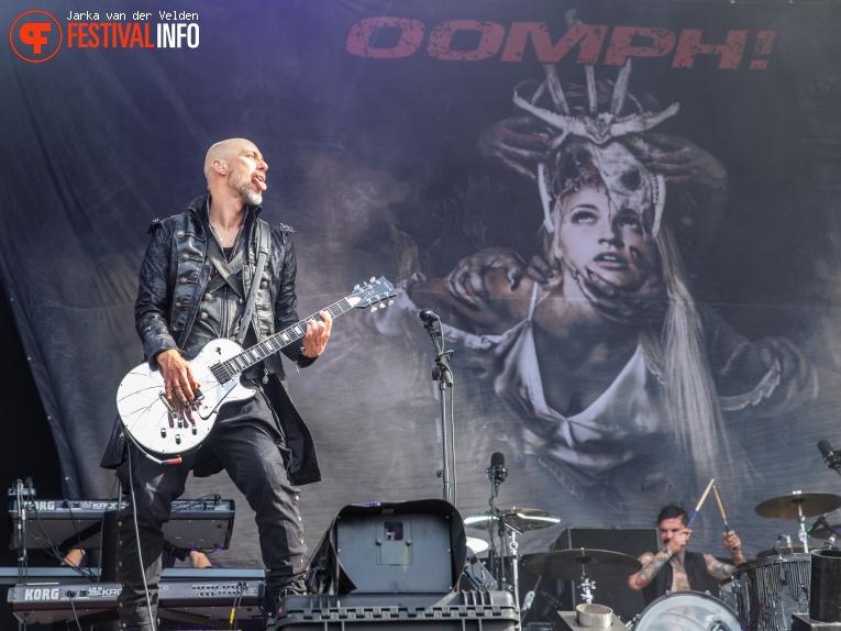 Oomph! op M'era Luna 2019 foto
