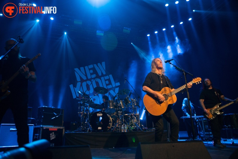 Foto New Model Army op W-festival 2019