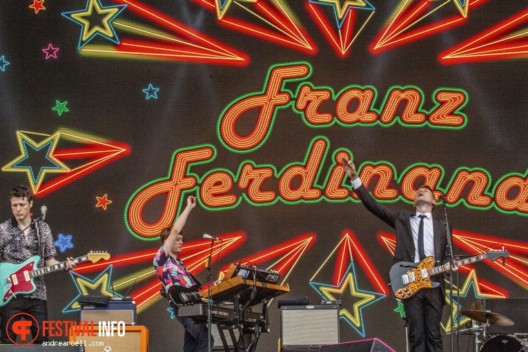Franz Ferdinand op Sziget 2019 - donderdag foto