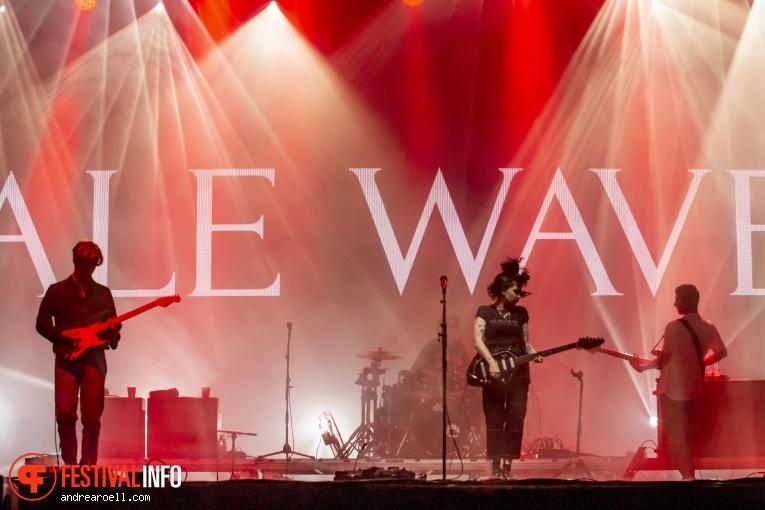 Pale Waves op Sziget 2019 - donderdag foto