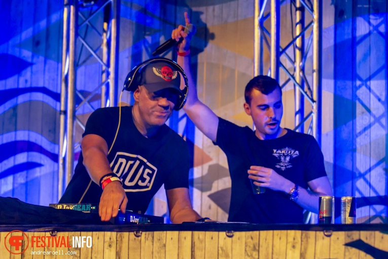 DJ Jean op Festival Strand 2019 foto