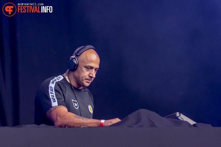 DJ Paul Elstak op Festival Strand 2019 foto