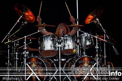 Motörhead op Arrow Classic Rock 2004 foto
