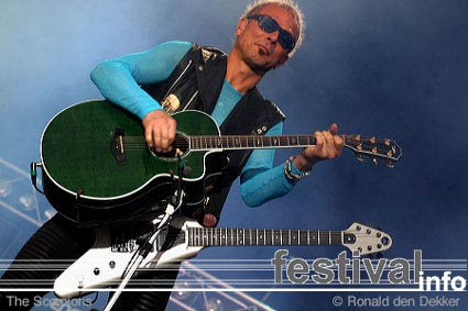 Foto Scorpions op Arrow Classic Rock 2004