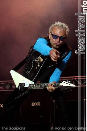 Scorpions op Arrow Classic Rock 2004 foto