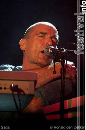 Saga op Arrow Classic Rock 2004 foto