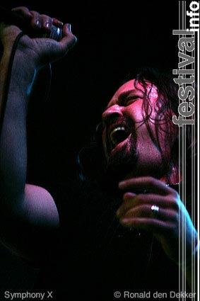 Symphony X op Arrow Classic Rock 2004 foto