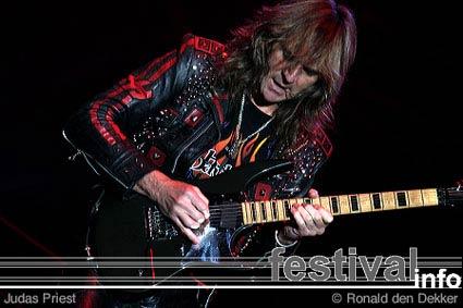 Judas Priest op Arrow Classic Rock 2004 foto