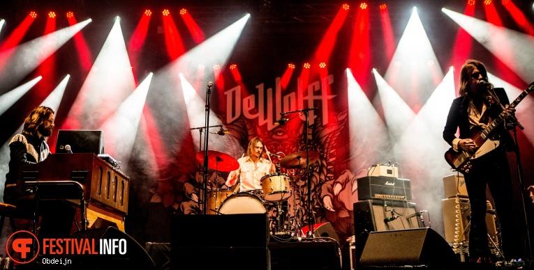 DeWolff op Bluesrock Festival Tegelen 2019 foto