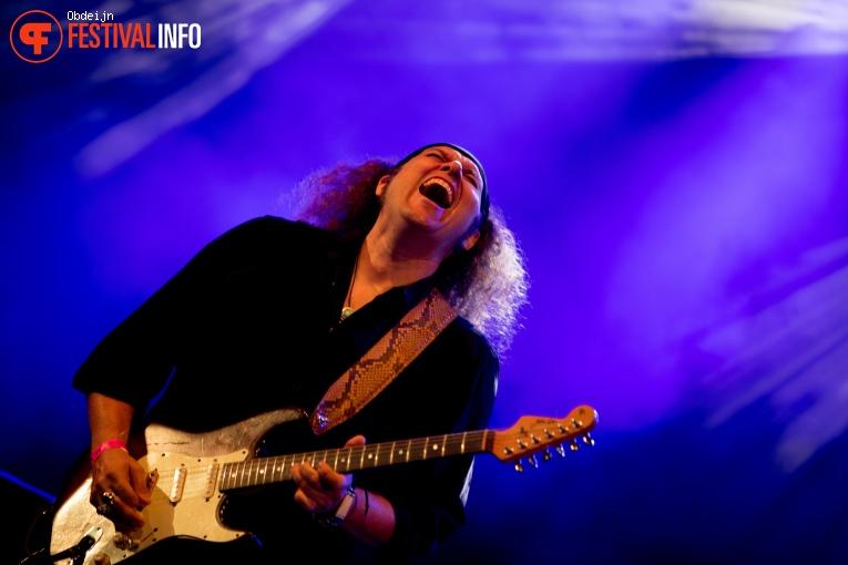 Foto Julian Sas op Bluesrock Festival Tegelen 2019