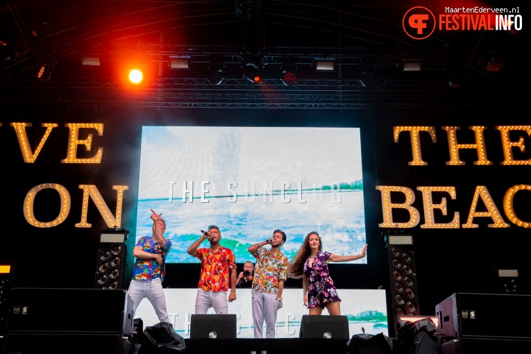 The Sunclub op Live on The Beach 2019 - Vrijdag foto