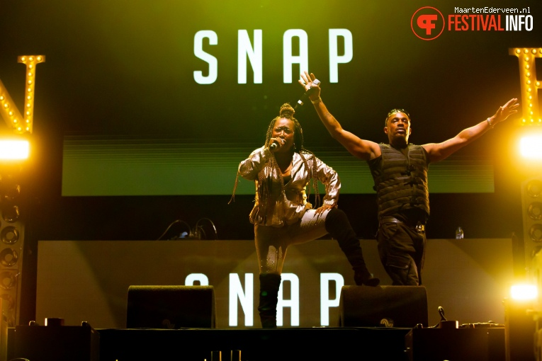 Snap! op Live on The Beach 2019 - Vrijdag foto