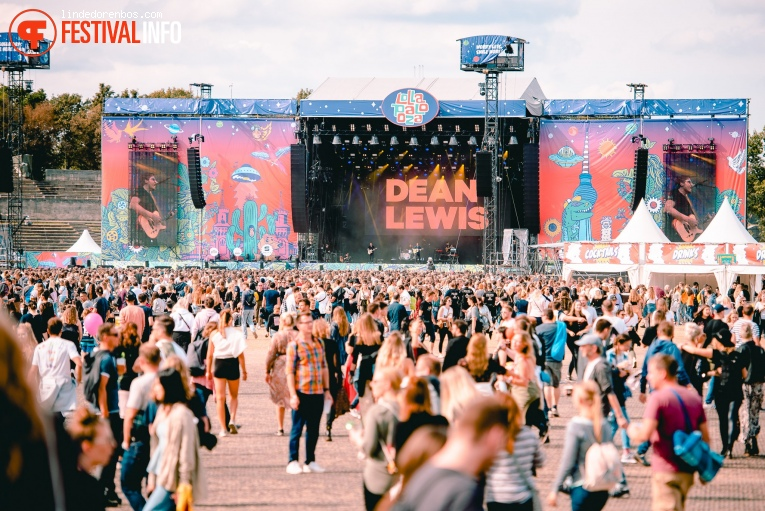Dean Lewis op Lollapalooza Berlin - 2019 - Zondag foto
