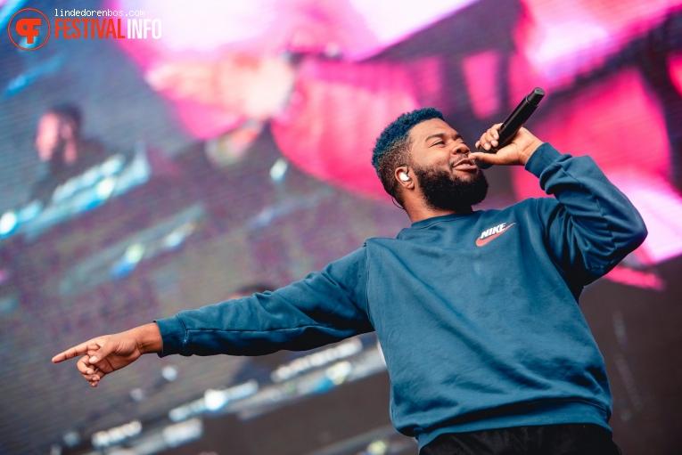 Khalid op Lollapalooza Berlin - 2019 - Zondag foto
