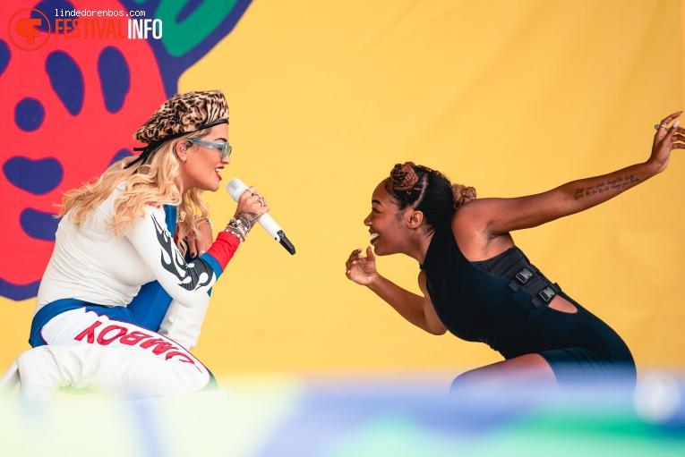 Rita Ora op Lollapalooza Berlin - 2019 - Zondag foto