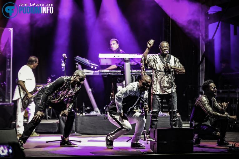 Foto Kool And The Gang op Kool & The Gang - Live in de Doolhof - 05/09 - Openluchttheater De Doolhof