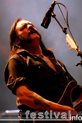 Foto Motörhead op Rock am Ring 2008