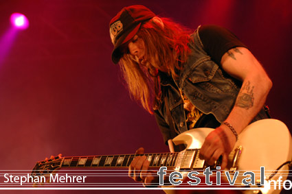 Foto The Hellacopters op Rock am Ring 2008