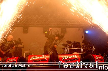 Foto Dimmu Borgir op Rock am Ring 2008