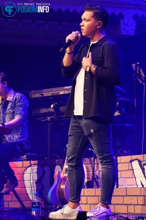 Ruben Annink op Nick & Simon - 04/10 - Paradiso foto