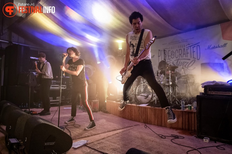 Bad Nerves op Pure&Crafted Festival 2019 foto