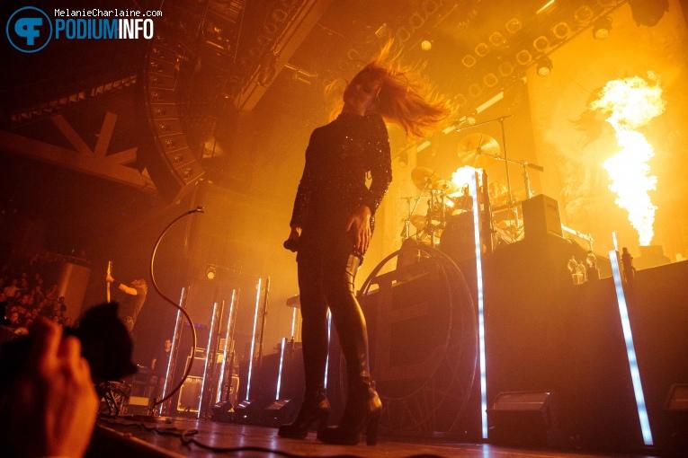 Epica op Epica - 05/10 - TivoliVredenburg foto