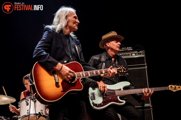 Foto Dave Alvin & Jimmie Dale Gilmore op Ramblin Roots 2019