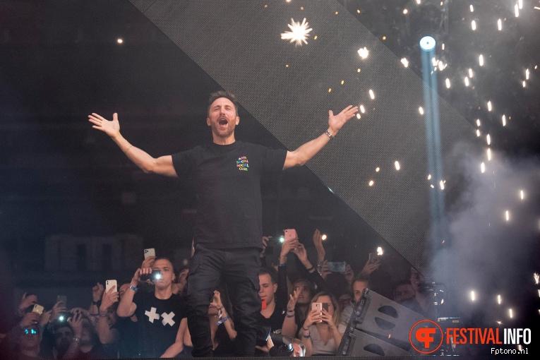 David Guetta op Amsterdam Music Festival 2019 foto
