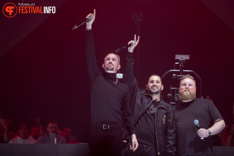 Dimitri Vegas & Like Mike op Amsterdam Music Festival 2019 foto