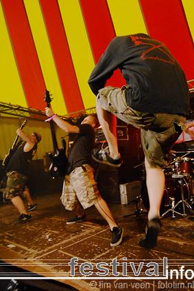 Born From Pain op Artquake 2008 foto