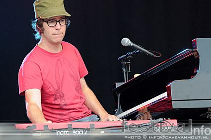 Ben Folds op Rockin' Park 2008 foto