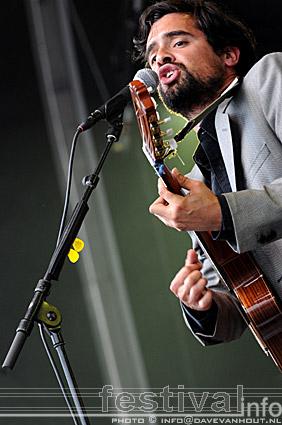 Gabriel Rios op Rockin' Park 2008 foto