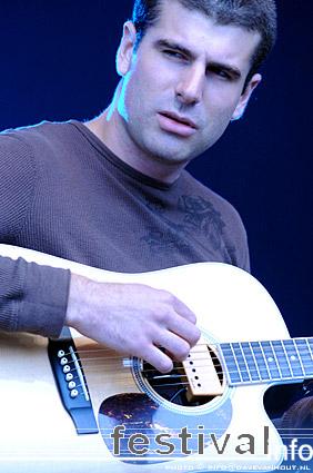Justin Nozuka op Rockin' Park 2008 foto