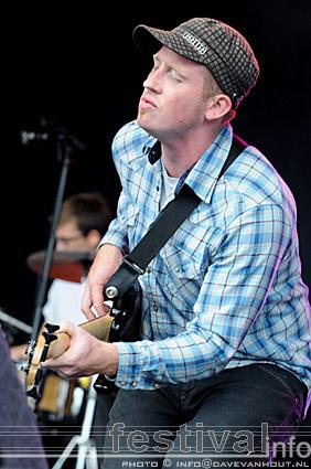 Foto Justin Nozuka op Rockin' Park 2008