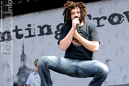 Foto Counting Crows op Rockin' Park 2008