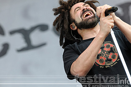 Counting Crows op Rockin' Park 2008 foto