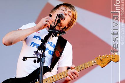 Kula Shaker op Parkpop 2008 foto