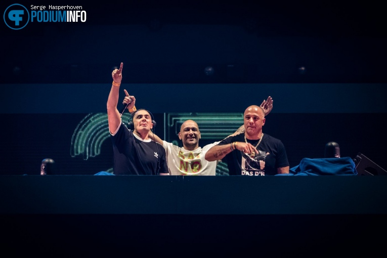 The Partysquad op DJ Paul Elstak - 14/12 - Gelredome foto