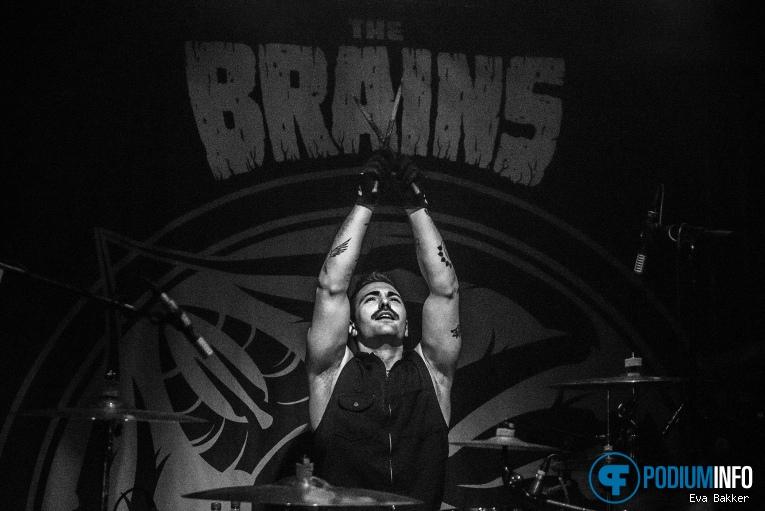 The Brains op The Brains - 10/01 - Merleyn foto