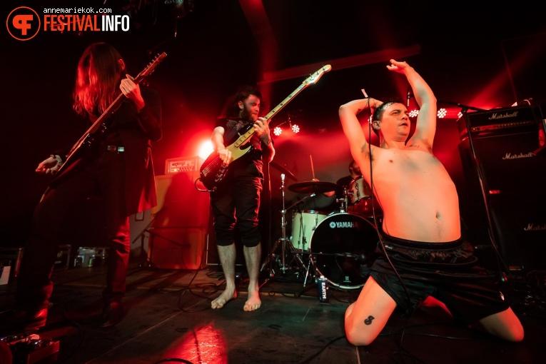Pigs Pigs Pigs Pigs Pigs Pigs Pigs op Eurosonic Noorderslag 2020 - donderdag foto