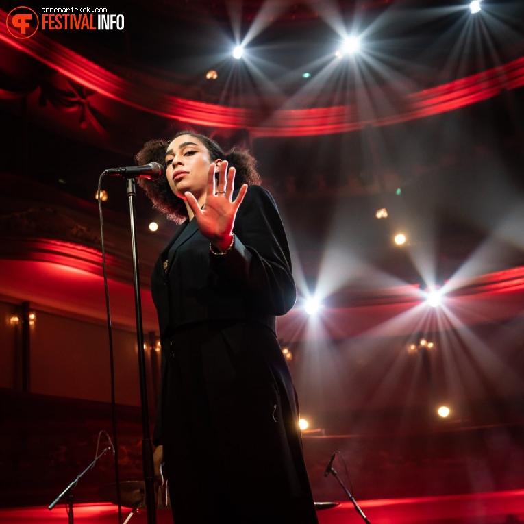 Celeste (UK) op Eurosonic Noorderslag 2020 - donderdag foto