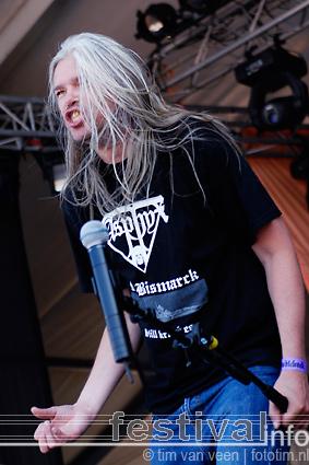 Hail Of Bullets op Wâldrock 2008 foto