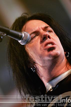 Morbid Angel op Wâldrock 2008 foto