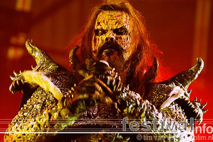 Foto Lordi op Wâldrock 2008