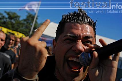 Death By Stereo op Wâldrock 2008 foto