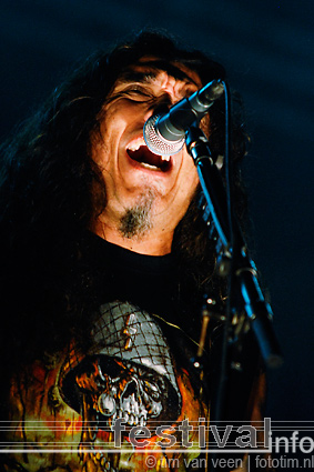 Foto Slayer op Wâldrock 2008