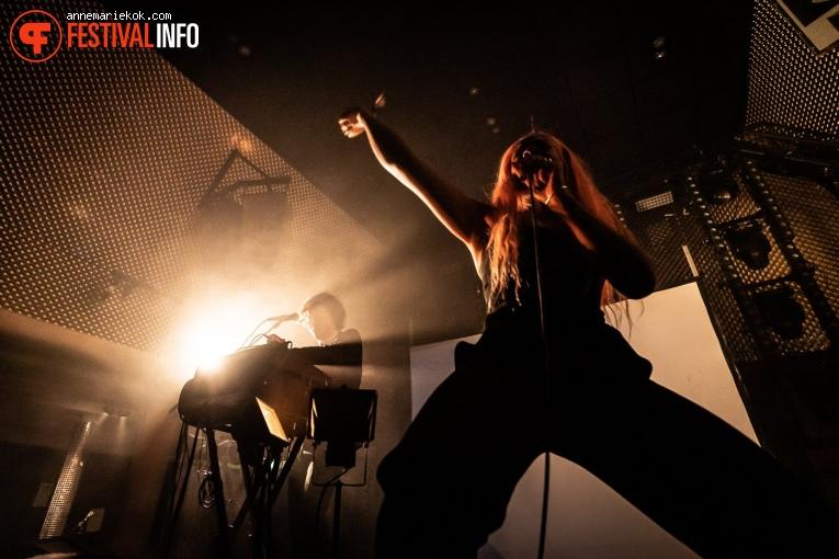 Charlotte Adigéry op Eurosonic Noorderslag 2020 - vrijdag foto
