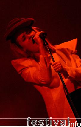 Foto Róisín Murphy op Rock Werchter 2008