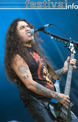 Foto Slayer op Rock Werchter 2008