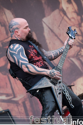Foto Slayer op Rock Werchter 2008